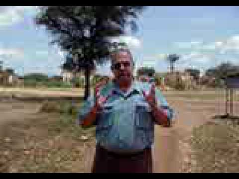 Bruce McDonald in South Sudan - Land Mines & River Crossing