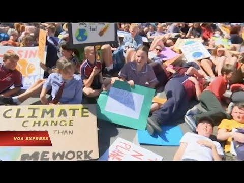 Thế giới tuần hành kêu gọi hành động chống biến đổi khí hậu (VOA)