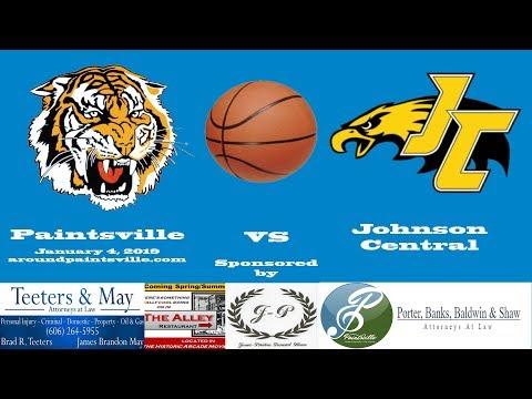Paintsville vs Johnson Central High School Basketball 1/4/19
