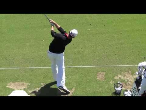 Gary Woodland 2012 Range Work Driver + 300 yard drives!!