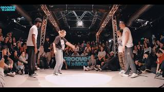 Final ALL STYLES BATTLE GROOVE'N'MOVE 2018 | Ness & Ina  Vs Artem & Isakun