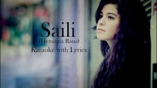 Saili | | Hemanta Rana | | Karaoke with Lyrics | | Clean | | Best Quality | |1080 HD