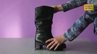 Обзор на обувь Janita (Модель 46499 чер кож сап мех Janita)