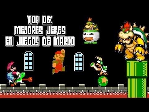 Top 08: Mejores Jefes en Juegos de Mario - Pepe el Mago