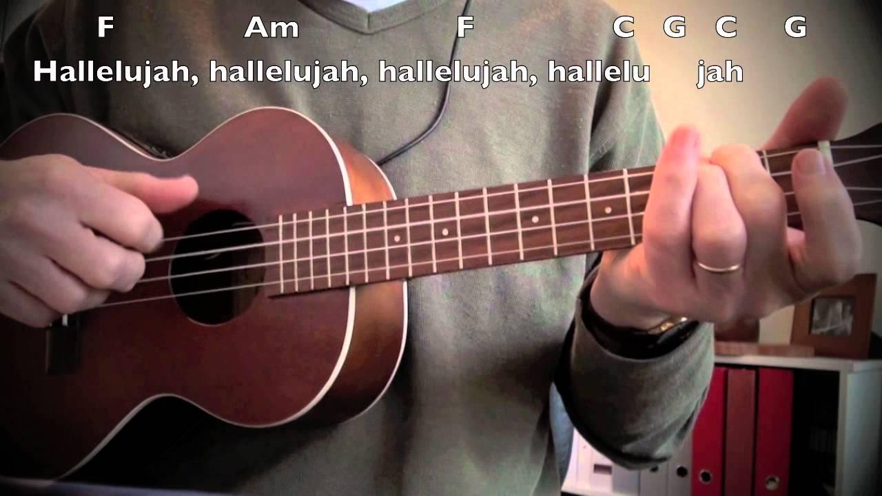 Hallelujah cover ukulele with chords lyrics youtube hallelujah cover ukulele with chords lyrics hexwebz Choice Image