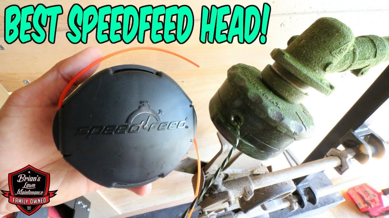 The Best Speedfeed Trimmer Head?! ► Replacing Your Line In 30 Seconds ►  ECHO Speedfeed 400 Head!