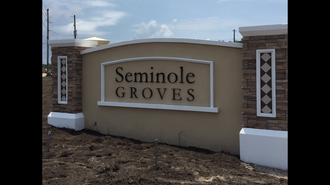 seminole groves new construction homes for sale