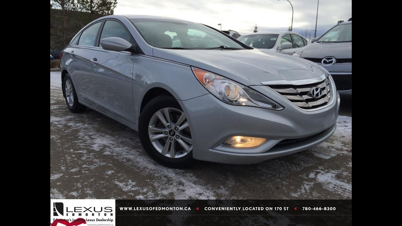 Marvelous Used Silver 2011 Hyundai Sonata 2.4L Auto GLS Review Sylvan Lake Alberta    YouTube