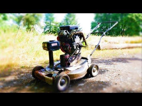 I super size my push-lawnmower