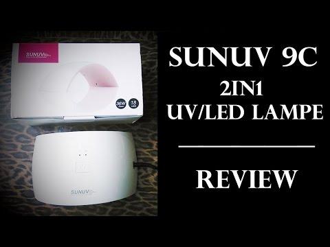 SUN UV 9C - UV/LED Lampe | Review | DEUTSCH | Nagellampe
