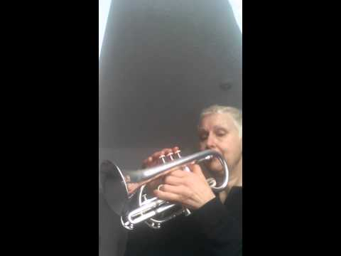 Notes C to G on the cornet