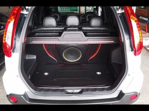 Nissan Xtrail Audio Upgrade Focal Be Venture Audio Zapco LX By Cliport-Audio