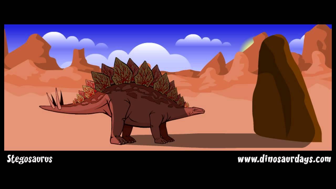 stegosaurus the jurassic period youtube