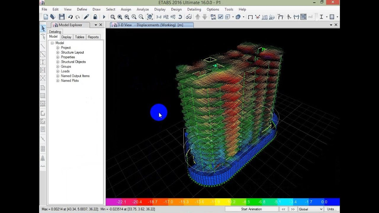 Session 4 ( 3D Modeling on ETABS 2016 and Design for Gravity Loads )