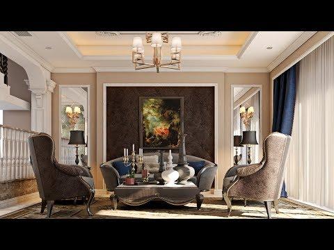 3Ds Max 2016 Classic Interior Tutorial Modeling Design Vray Render 01