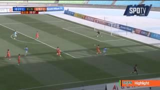 2015 K리그 챌린지 2라운드 대구FC vs 강원FC 하이라이트