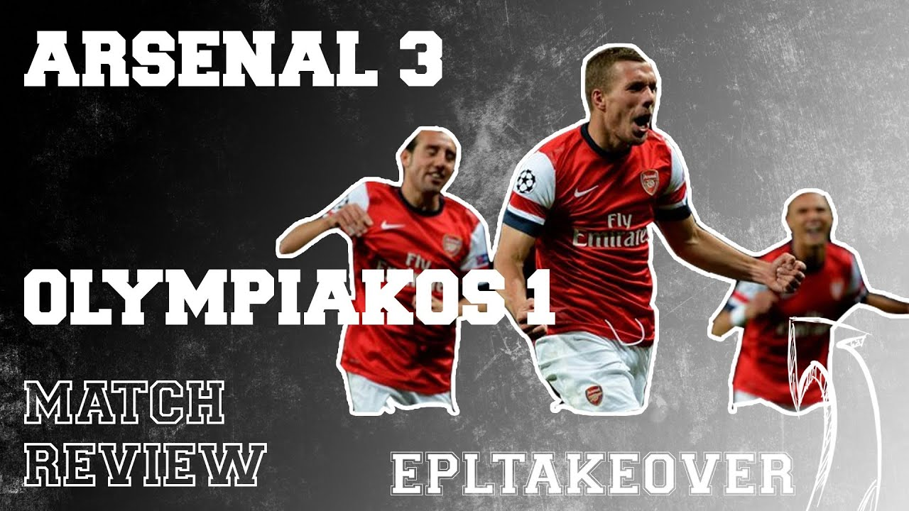 Arsenal vs Olympiakos 3-1 - YouTube