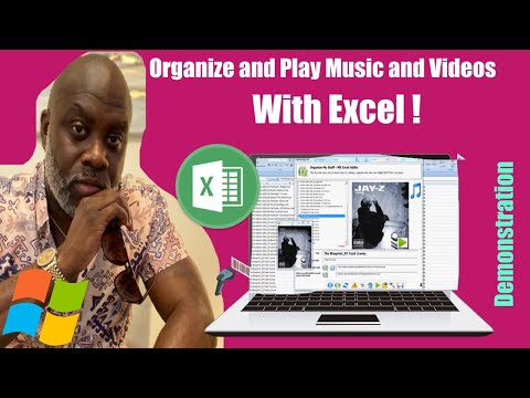 Use Excel To Organize Files and Play Music and Videos