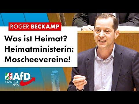 Was ist Heimat? CDU: Moscheevereine! – Roger Beckamp (AfD)