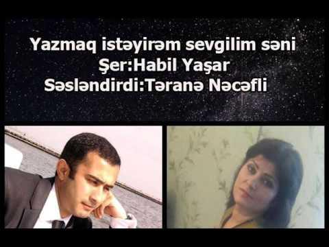 Yazmaq istəyirəm  Şer Habil Yaşar,...