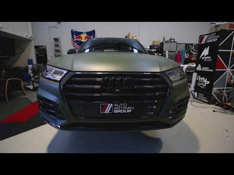 Audi SQ5 Matte Military Green Vinyl Wrap | Sydney | Best Wrapped Cars By Vehicle Wrap Specialists