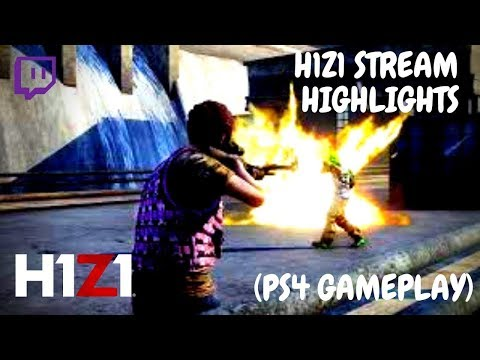 H1z1 Ps4 Highlights And Best Moments Gameplay Z1