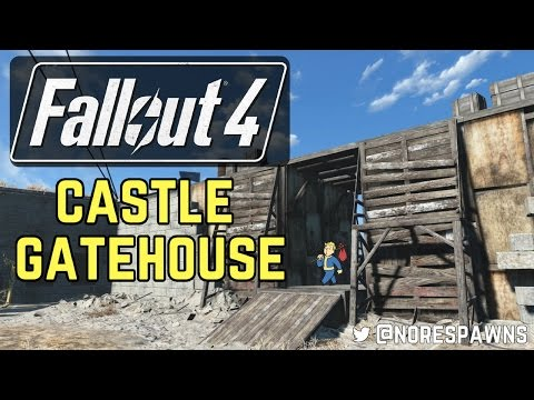 Fallout 4 - Modded Castle Gatehouse