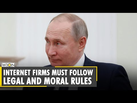 Russia: Vladimir Putin wants the internet bound by Moral Rul