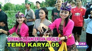 Mari bergoyang bersama vocalis dan dancer cantik Temu karya 05