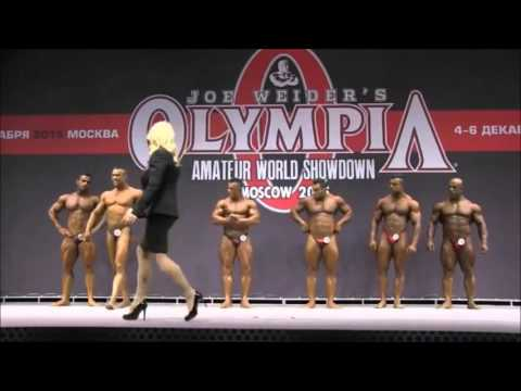 Olympia Amateur Moscow Finals 100Kg and More Than 100Kg