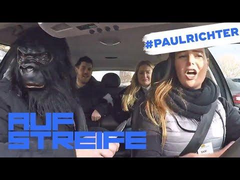 Grausame Taxifahrt: Wer ist der maskierte Mann? | #PaulRichterTag | Auf Streife | SAT.1 TV