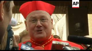 New York's new cardinal says he wants to be a saint