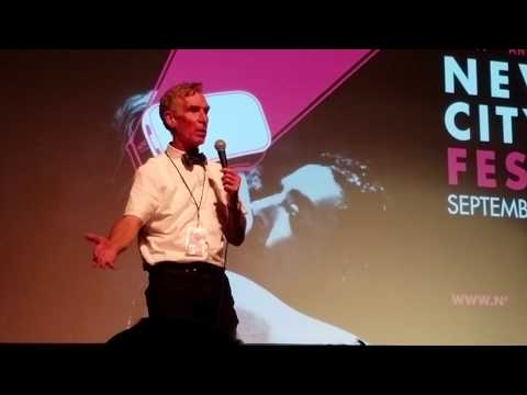 Bill Nye Questions & Answers @ Nevada City Film Festival 9-11-2017