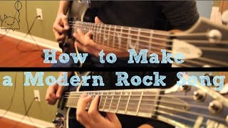 How To: Make a Modern Rock Song in 6 Min or Less (+ Full Song at the End) || Shady Cicada