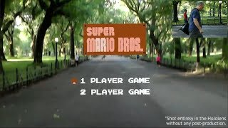 Super Mario Bros Recreated As LIFE SIZE Augmented Reality Game | What's Trending Now!