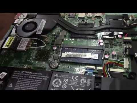 How to install SSD in Acer Aspire V5-552G | Hard Drive replacement .