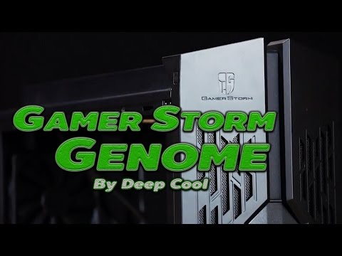 เคส Gamer Storm Genome by Deep Cool + Water Cooling  รีวิว By ThxCom