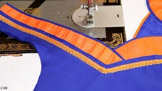 Blouse Design for Fancy Saree