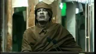 Famous Muammar Gaddafi speech 2011 Feb 22(Original)