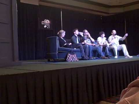 The Sarah Jane Adventures panel at Gallifrey One 2010 Doctor Who Convention