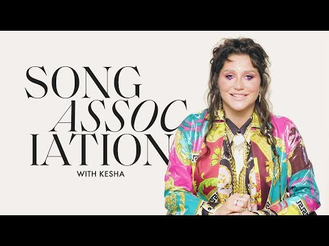 Kesha Sings Dolly Parton, Kelly Clarkson, and Lizzo in a Game of Song Association | ELLE