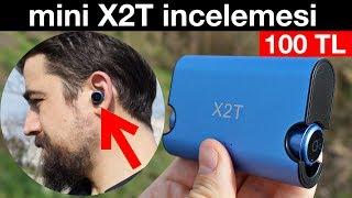 Mini X2T Kablosuz çift Bluetooth Kulaklık incelemesi