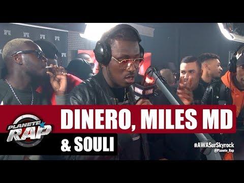 Youtube: Dinero, Miles MD & Souli – Freestyle #PlanèteRap