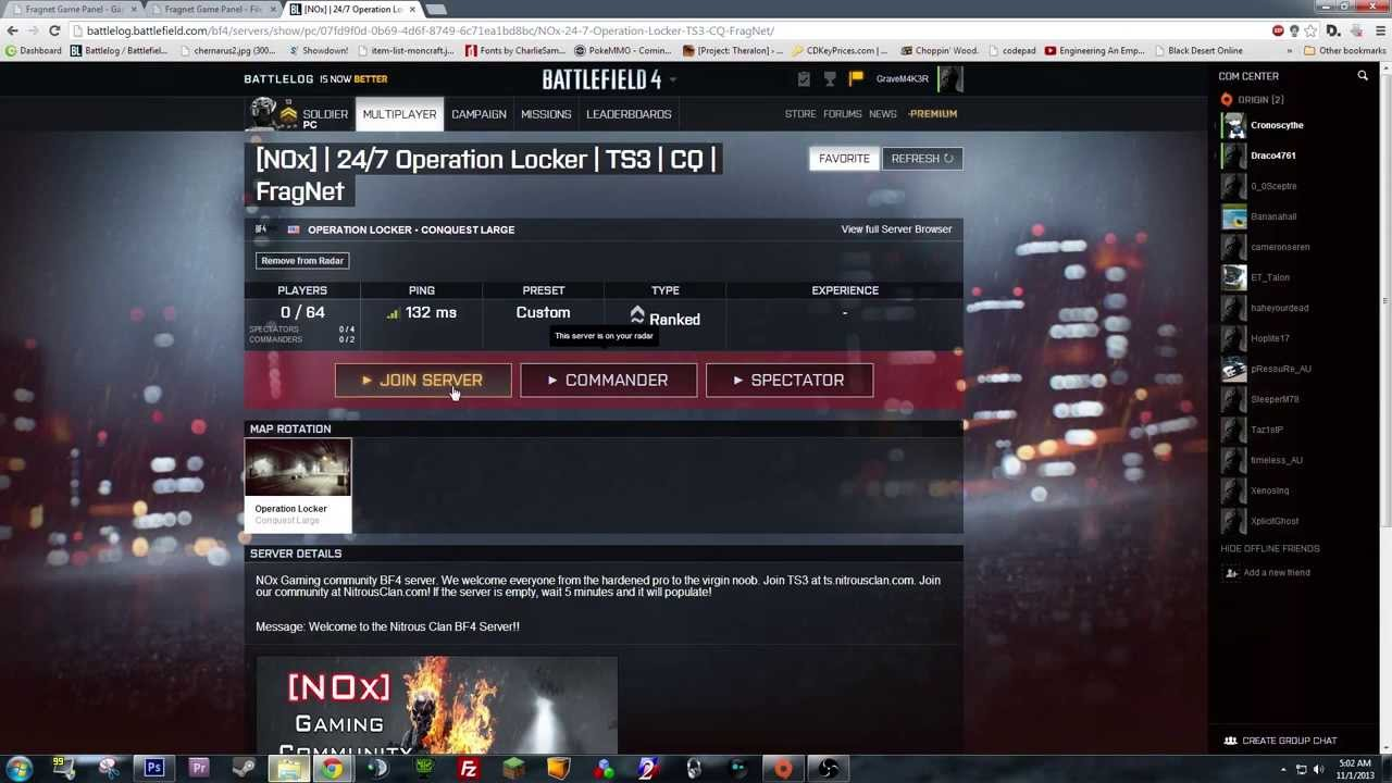 battlefield 4 how to add server with ip