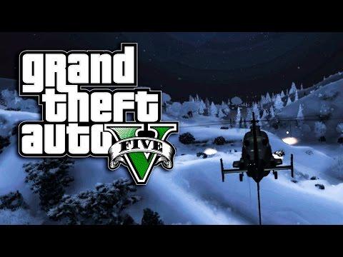 PAO JE SNEG - AVANTURE U BELOME SVETU ! Grand Theft Auto V - Zezanje