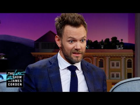 Joel McHale Has a Thing with Knives