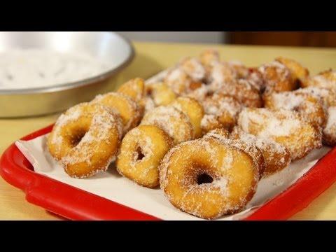 Homemade Doughnuts Recipe (Italian Graffe) – Laura Vitale & Nonna – Laura in the Kitchen Ep 444