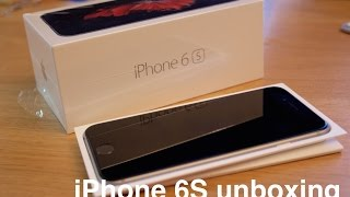 Apple iPhone 6S Space Grey Unboxing/Hands on!