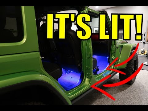 Jeep JL Grill & Under Seat Accent Lighting – HOW TO INSTALL Diode Dynamics Multicolor Kit