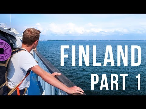 WE SLEPT IN A WARZONE - Finland trip part 1